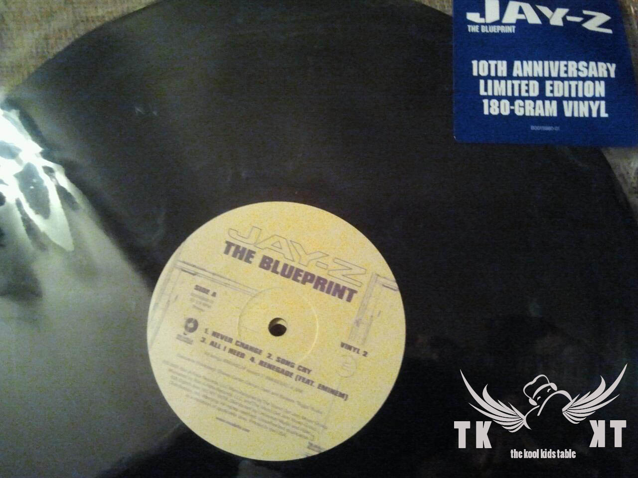 Kop that jawn jay zs the blueprint 10th anniversary vinyl the kool kid prod has copped his own copy of jay zs the blueprint malvernweather Gallery