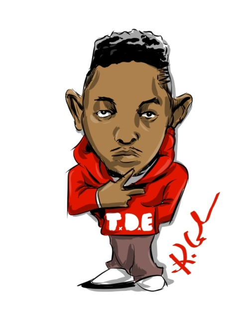 kendrick cartoon